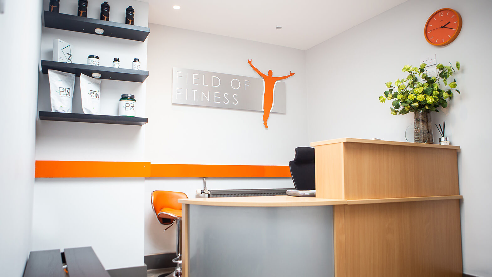 Field of Fitness Gym - Reception Desk
